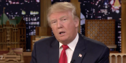 What Happened When Donald Trump Was Asked To Play Sharknado's U.S. President