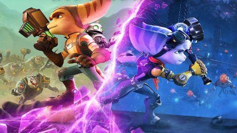Ratchet and Clank: Rift Apart keyart