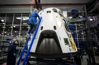 SpaceX's Dragon Pad Abort Test Vehicle