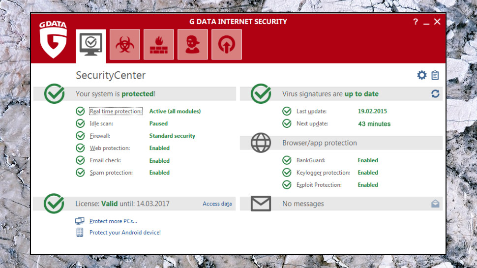 Internet Security Interface