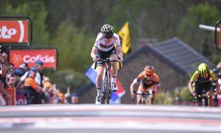 Anna van der Breggen (Boels Dolmans) wins La Fleche Wallonne