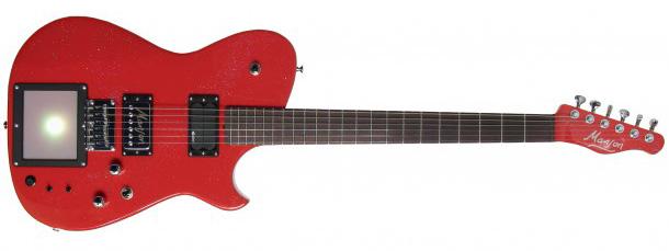 Manson Mb 1 Guitar Is Muse Guitarist Matt Bellamy S Secret Weapon