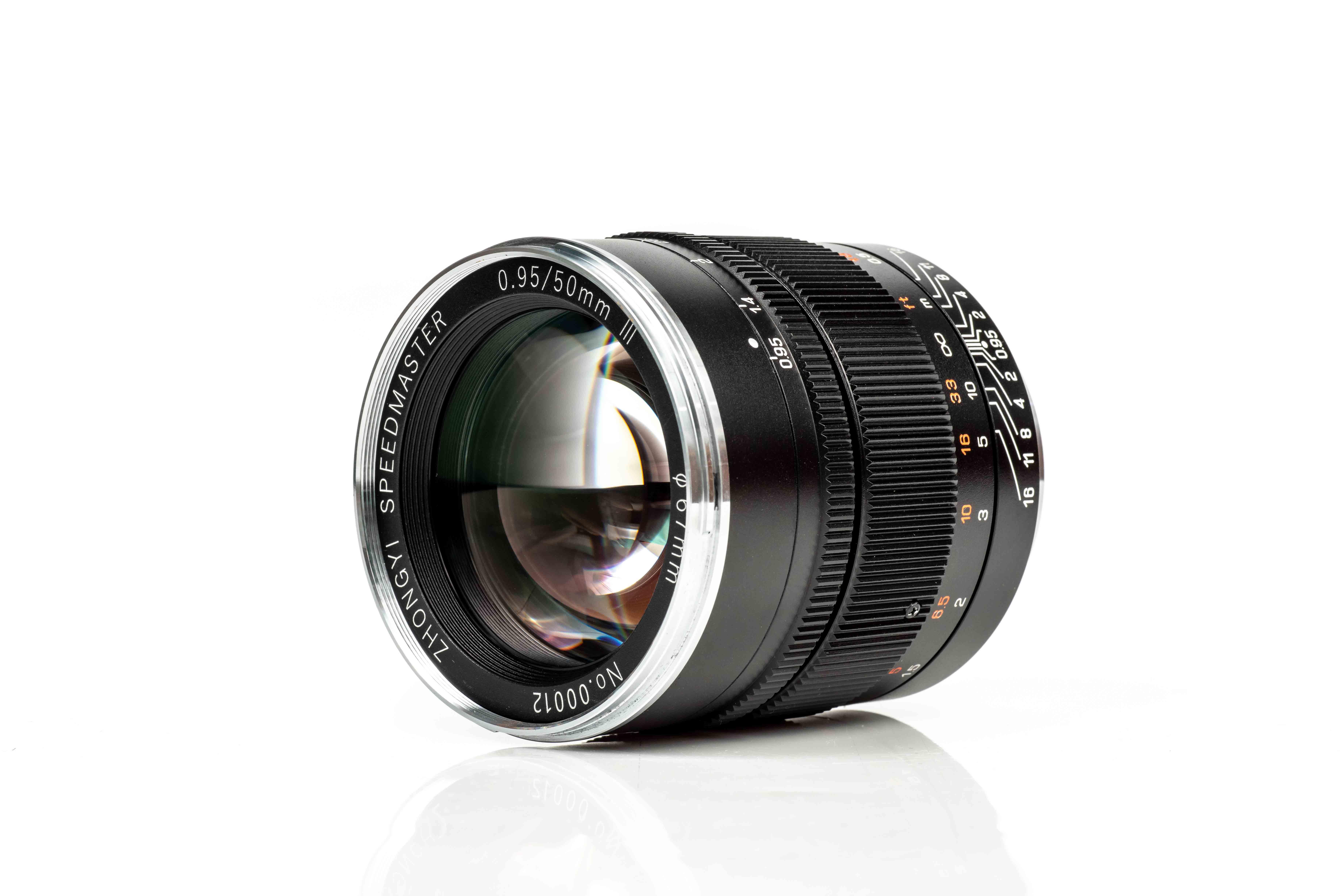 Mitakon Speedmaster 50mm f/0.95 Mk III arrives for full-frame mirrorless cameras