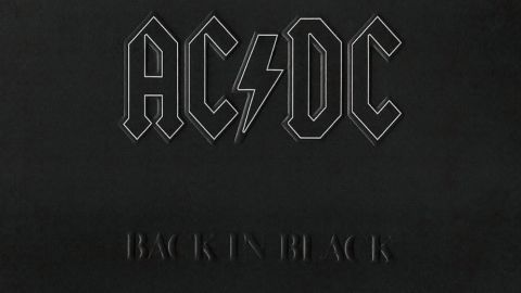 ac/dc back in black album