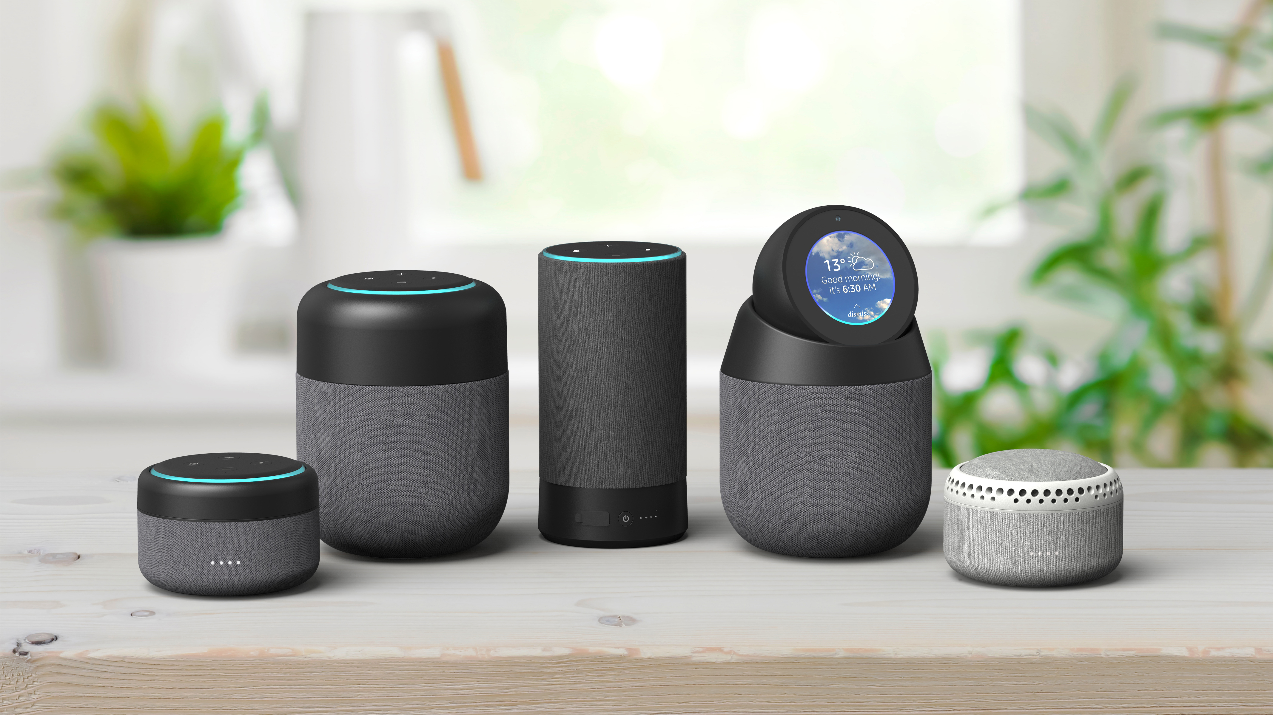 The Amazon Echo Spot goes portable with the I-box Vault dock