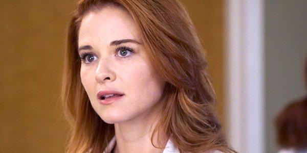 Sarah Drew as April Kepner on Grey's Anatomy ABC