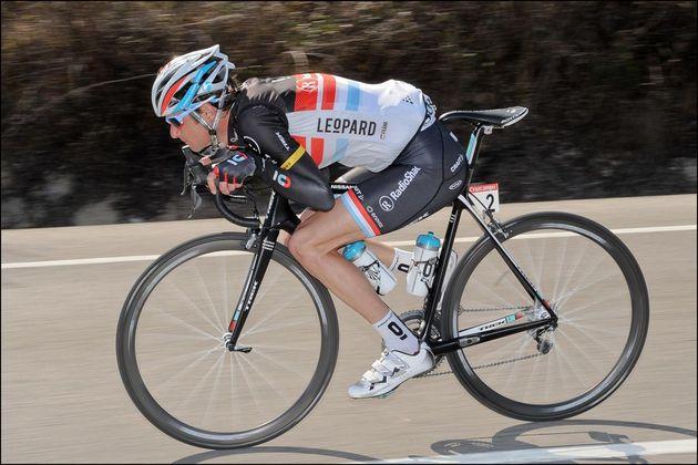 Frank Schleck on stage three, Ruta del Sol 2012