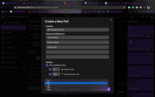 How to Create Polls in Twitch