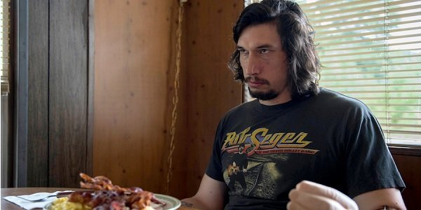 Logan Lucky Adam Driver disappointed at breakfast