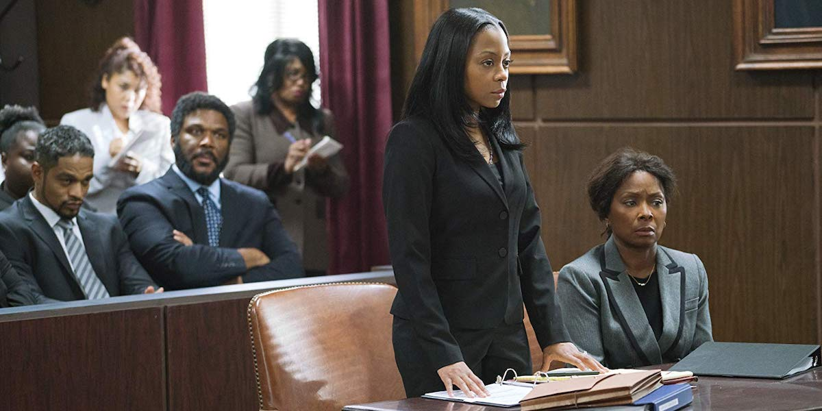 Tyler Perry, Bresha Webb, Crystal Fox in A Fall From Grace