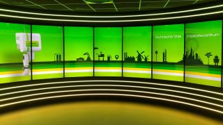 PPDS digital signage installed at the Technische Unie Experience Center in the Netherlands