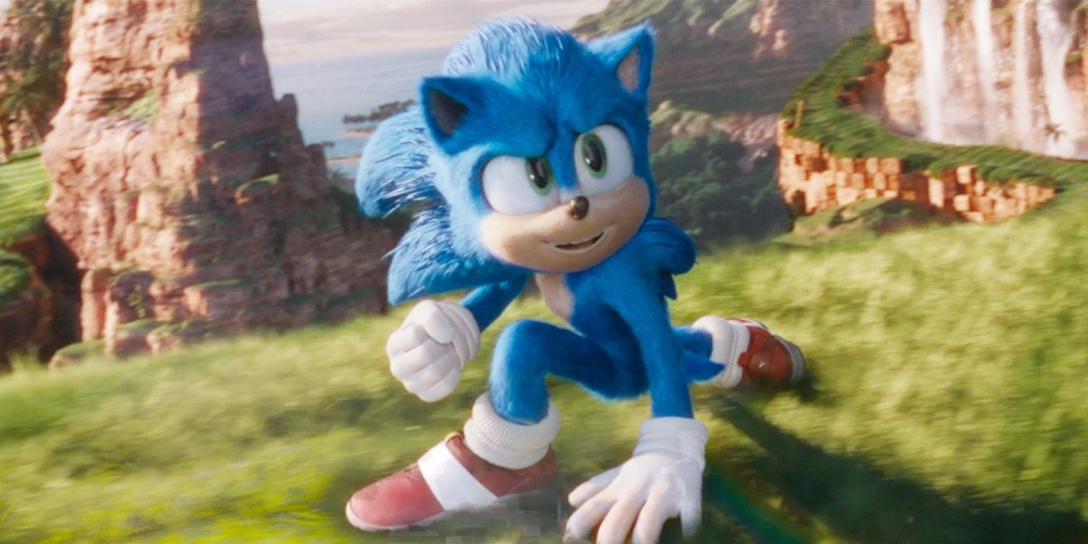 Screenshot from Sonic the Hedgehog (2020)