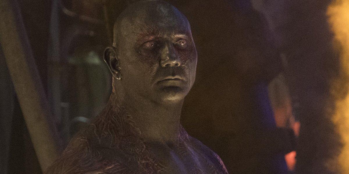 Drax in Avengers Infinity War