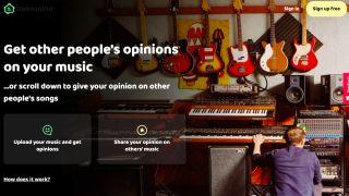 Opinionhut home page
