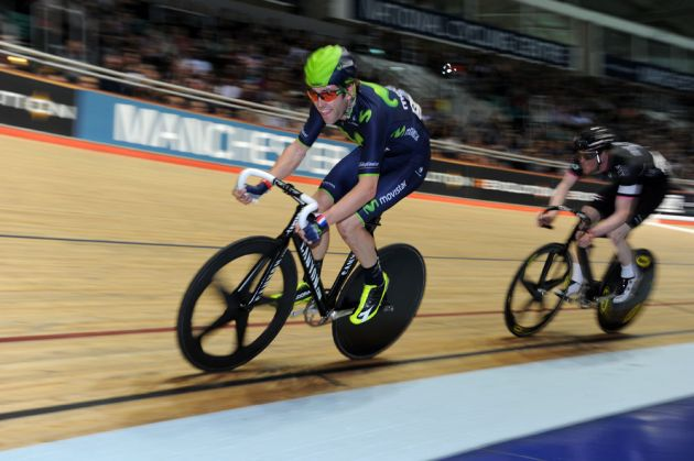 Alex Dowsett and Ed Clancy, Revolution Series, January 4 2014, Manchester