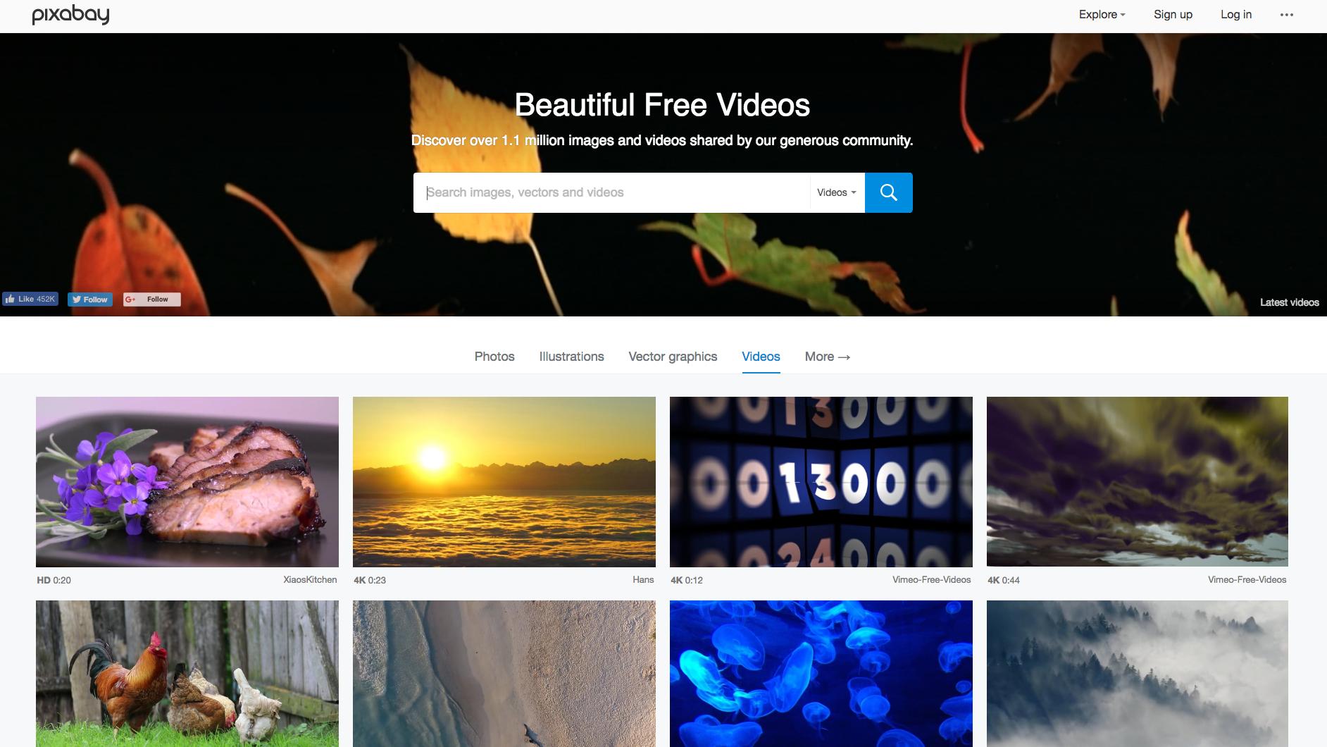 Pixabay screen grab
