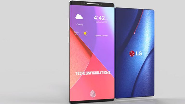 Where the Samsung Galaxy X needs two screens, the foldable LG Bendi needs only one