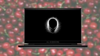 The Dell Alienware m15 R4 Cherry MX collaboration laptop, black