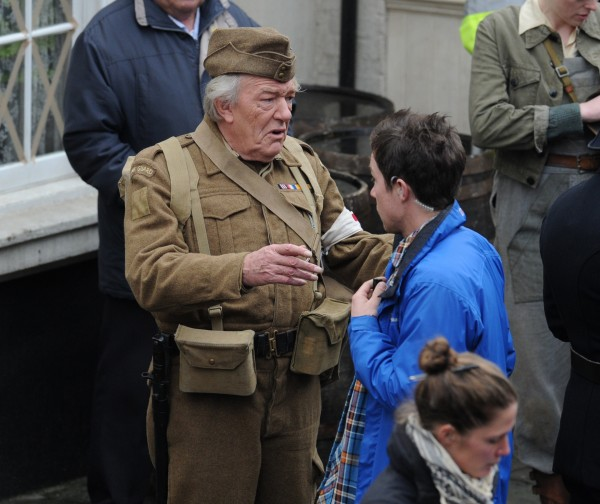 Michael Gambon stars in Dad's Army