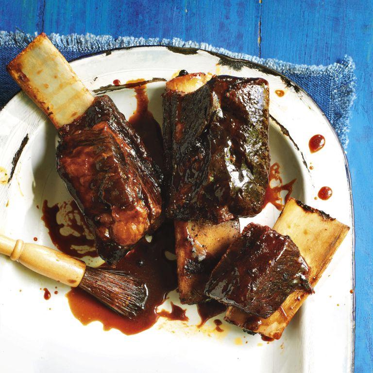 Bourbon-Glazed Beef Short Ribs photo