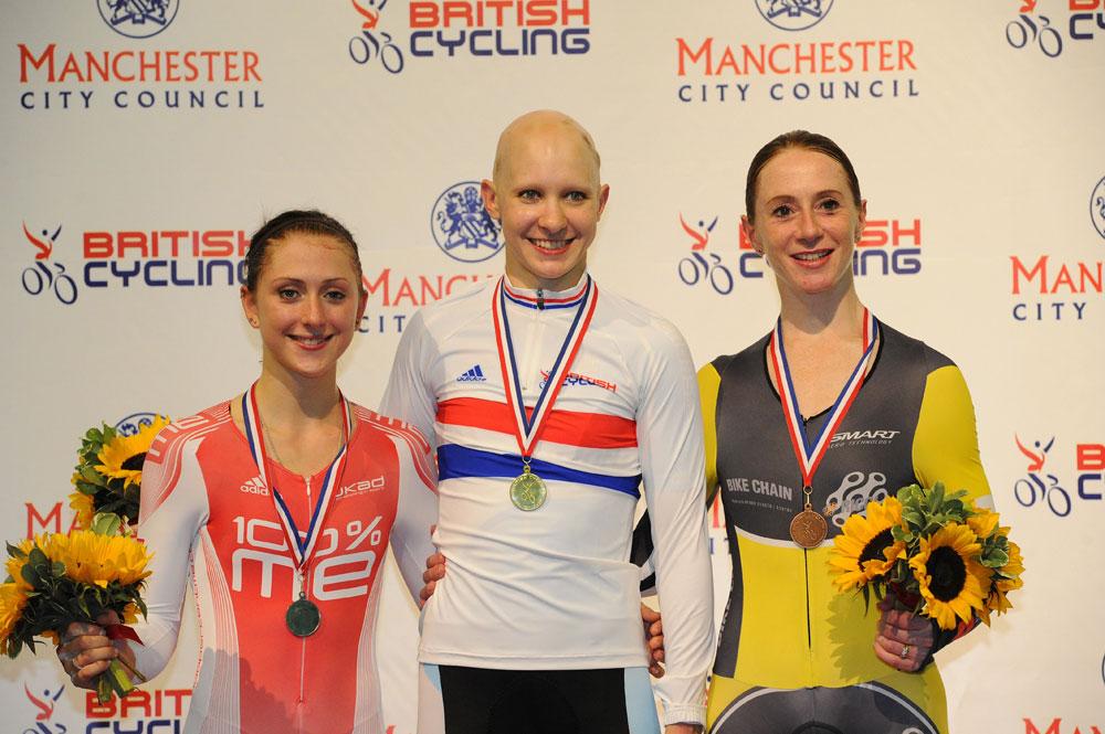 Joanna Rowsell wins women