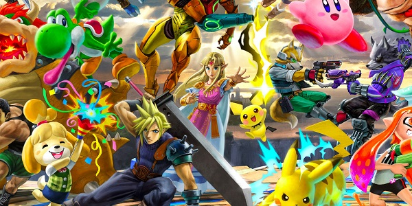 Many members of the Smash roster.