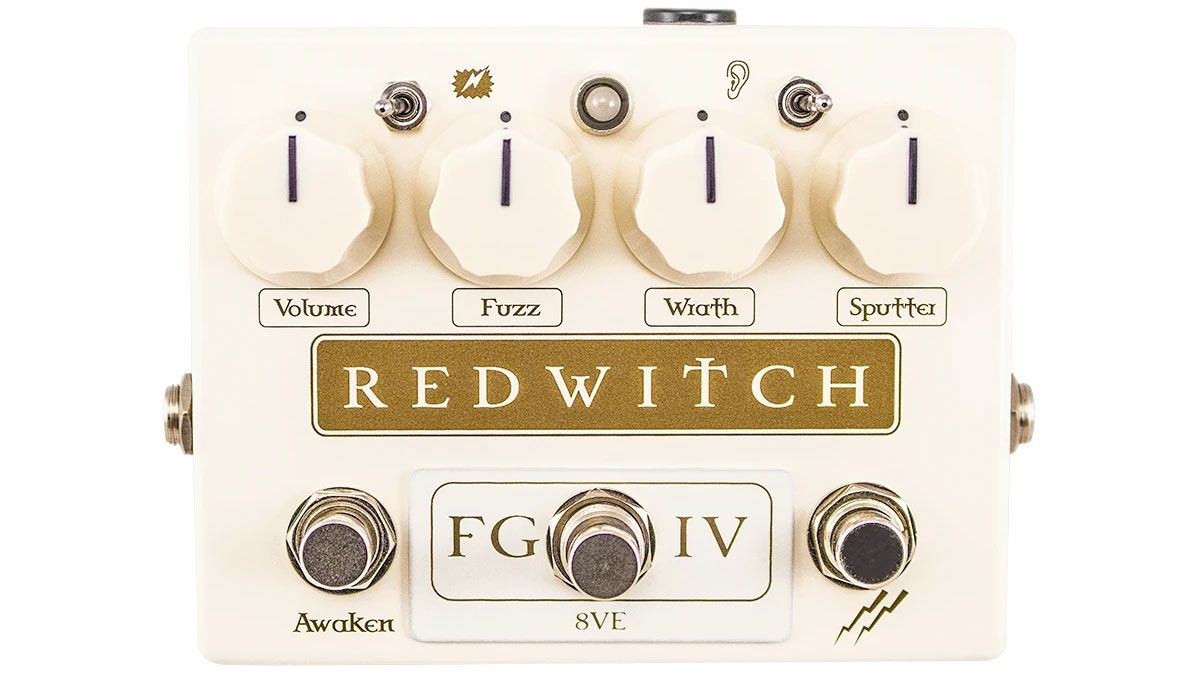 "Red Witch says it has just released ""the most dial-able fuzz on the planet"""