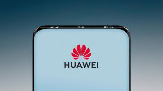 Huawei under-screen camera and icons in bezel smartphone