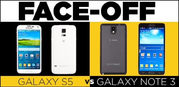 Samsung Galaxy S5 vs  Galaxy Note 3: Which Phone Is Best