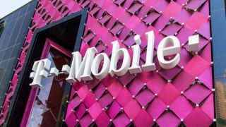 The exterior of a T-Mobile store on the Las Vegas Strip in Paradise, Nevada.
