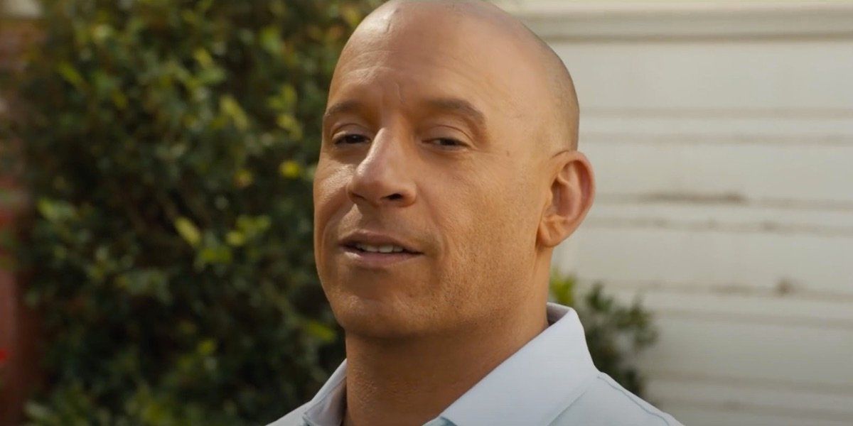 Vin Diesel as Dominic Toretto in F9