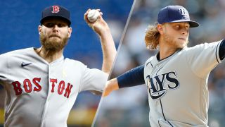Chris Sale and Shane Baz will duel in the Red Sox vs Rays live stream