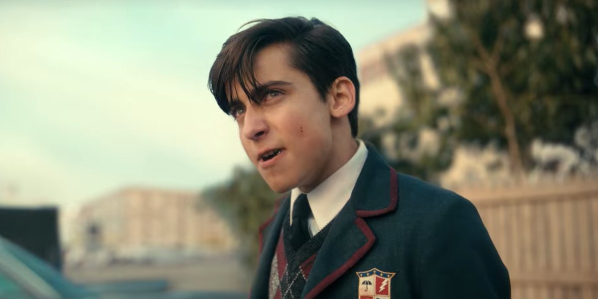 How The Umbrella Academy's Aidan Gallagher Made Five's Paradox Psychosis  Look So Intense - CINEMABLEND