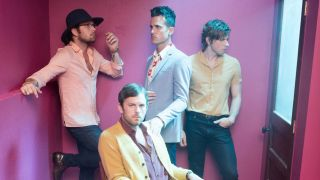 A promotional picture of Kings Of Leon