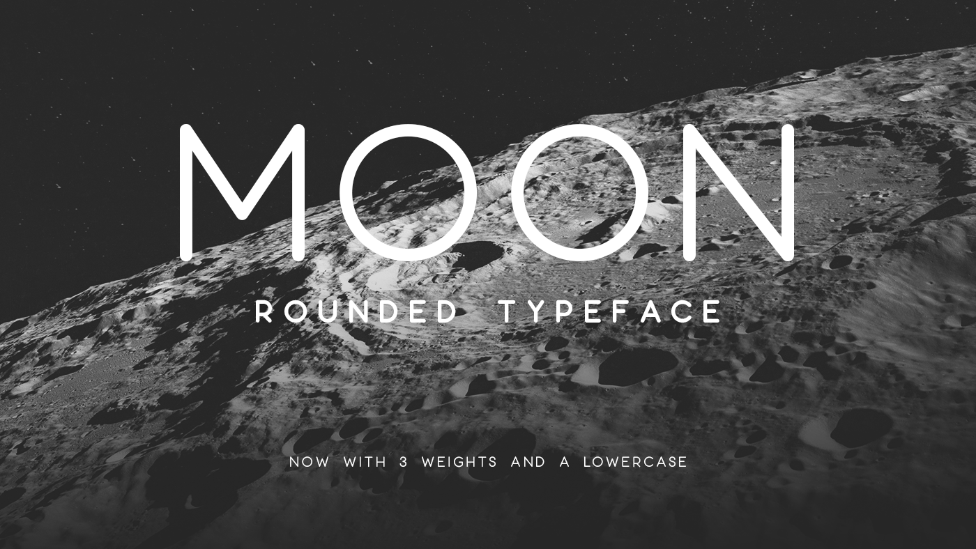 Best free fonts: Moon