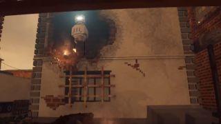 A robot oversees arson