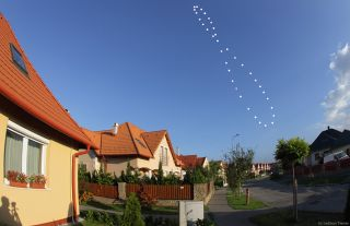 Analemma of 2011-2012