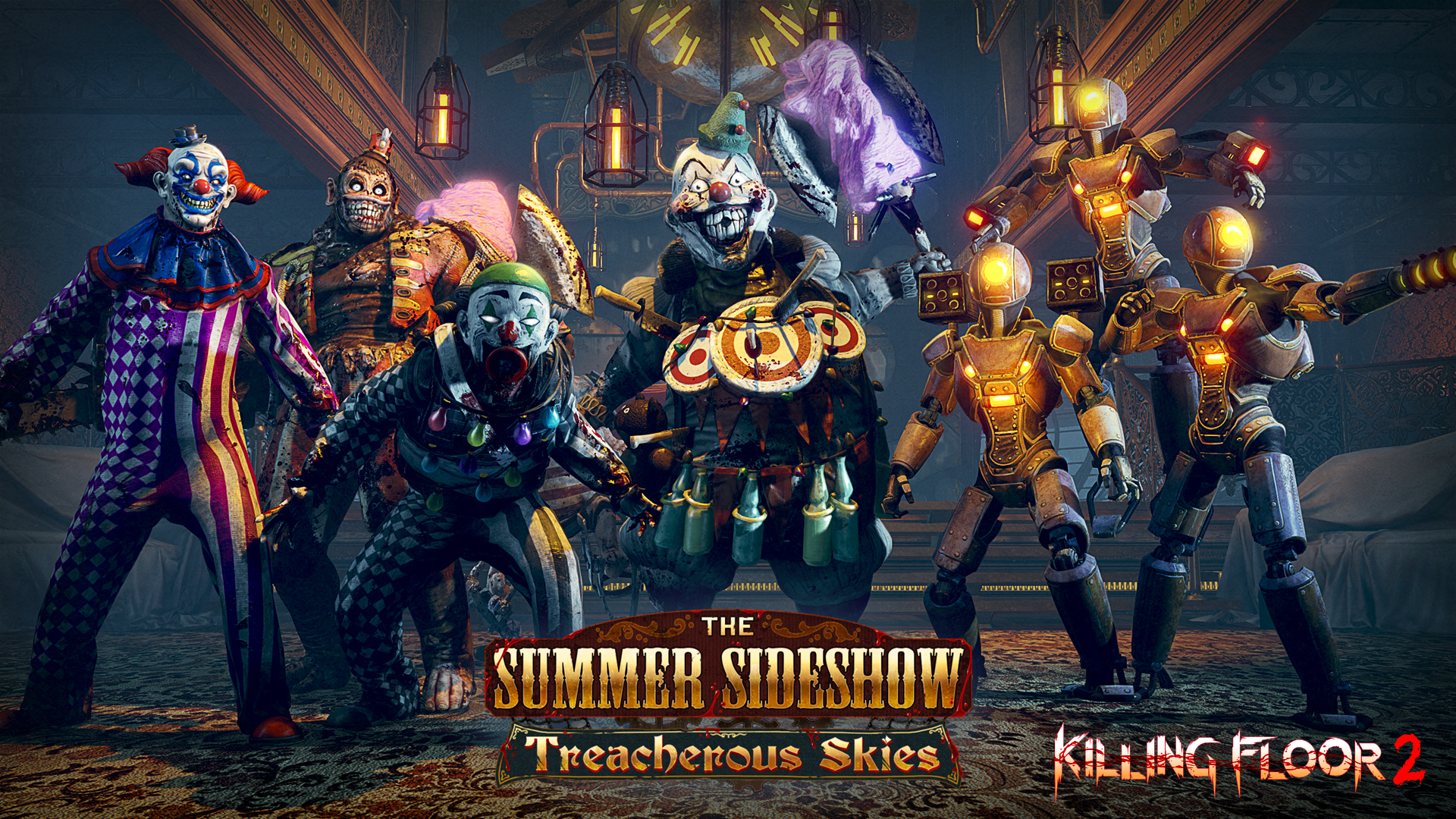 Killing Floor 2 S Summer Sideshow Update Adds An Airship Map On