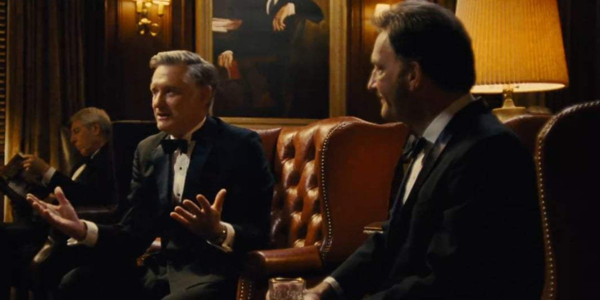 Bill Pullman and Tom Kenny in Battle of the Sexes