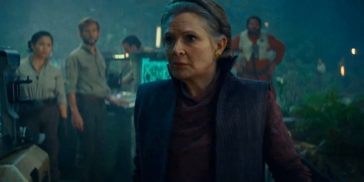 Star Wars The Rise Of Skywalker Clip Reveals New Look At Carrie Fisher S Leia Cinemablend