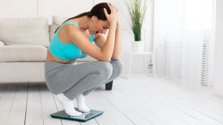 Why do you sometimes gain weight after exercising?
