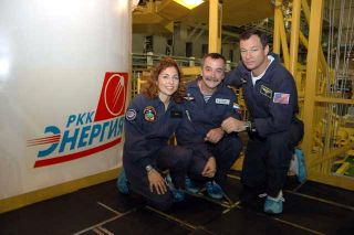 First Female Space Tourist, Next ISS Crew Set to Launch