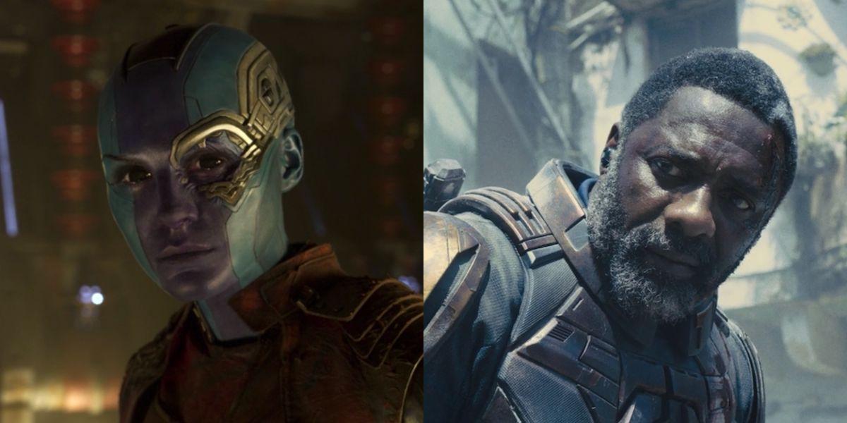 Nebula and Bloodsport side by side