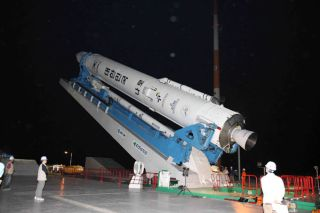 South Korea's Second Rocket Likely Exploded During Launch