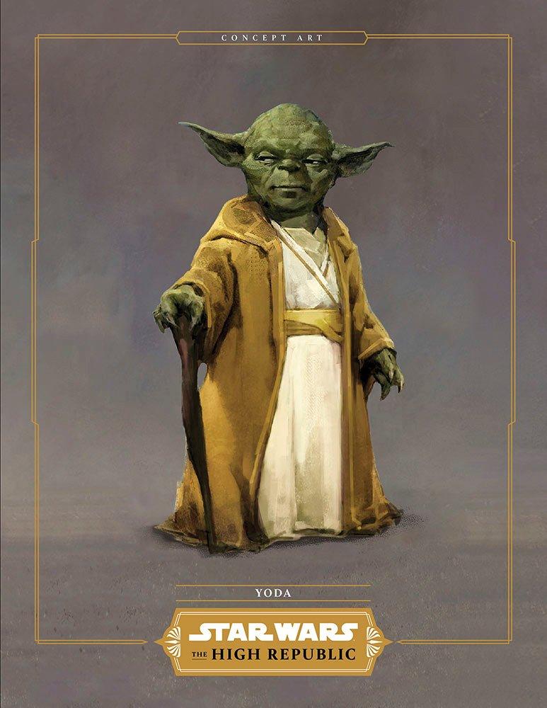 Primeiro olhar para um jovem Yoda de Star Wars: The High Republic 1
