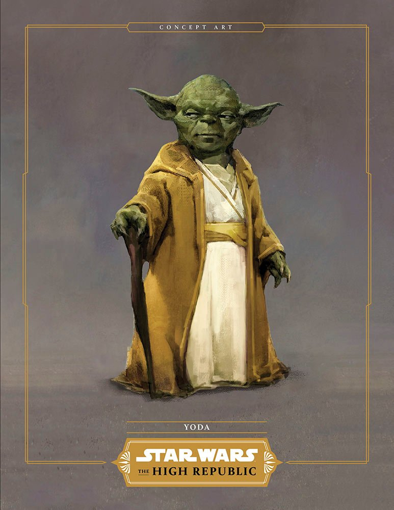 Young Yoda in Star Wars The High Republic
