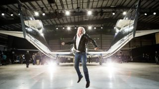 Sir Richard Branson, the billionaire founder of Virgin Galactic, will launch on the company's first fully crewed spaceflight on the SpaceShipTwo VSS Unity from Spaceport America, New Mexico on July 11, 2021.