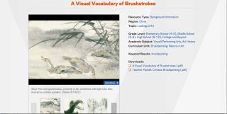 Asian Art Explored Through Geography, Interactive Lessons