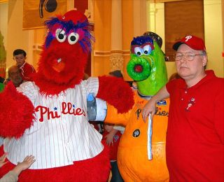 Phillies' Mascot Gets New Spacesuit Thanks to Space Fan