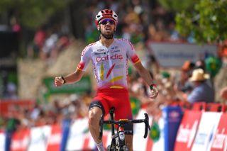 Jesus Herrada (Cofidis) wins stage 6 of the 2019 Vuelta a Espana at Ares del Maestart